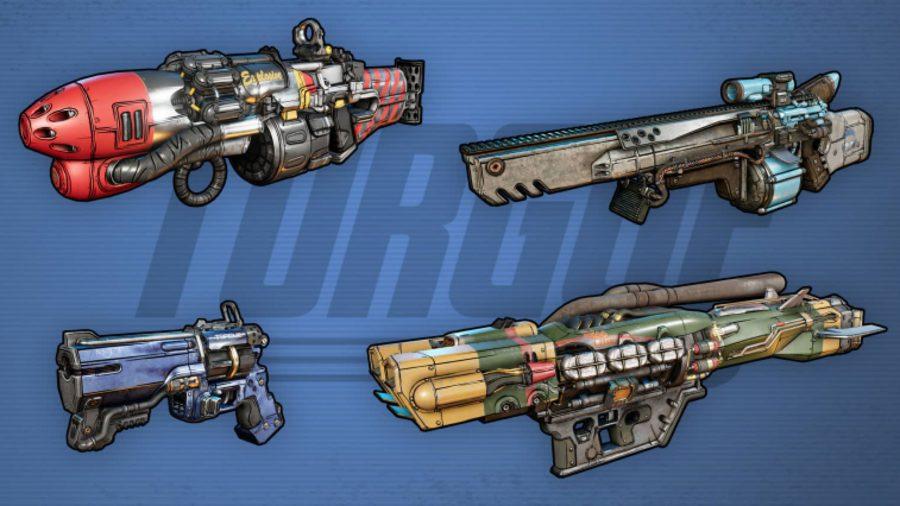 borderlands 3 torgue weapons