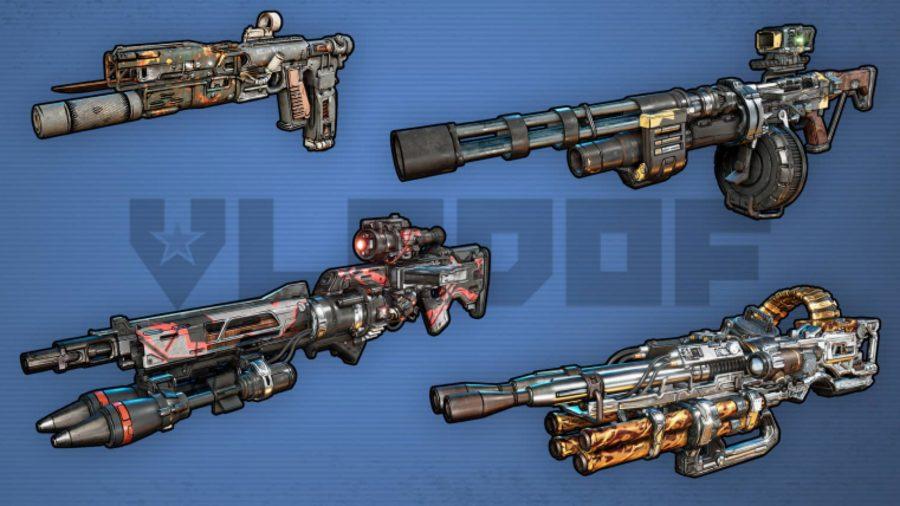 borderlands 3 vladof weapons