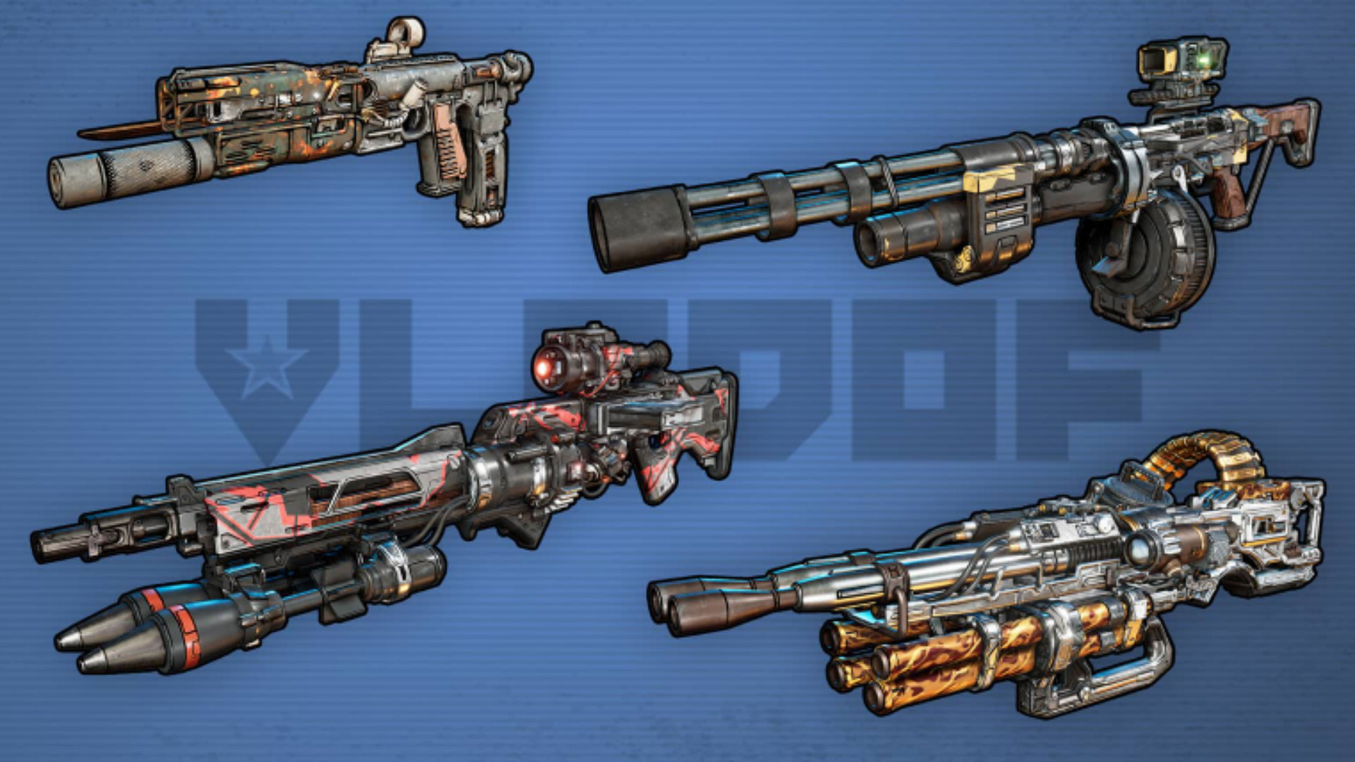 borderlands 2 weapon manufacturers