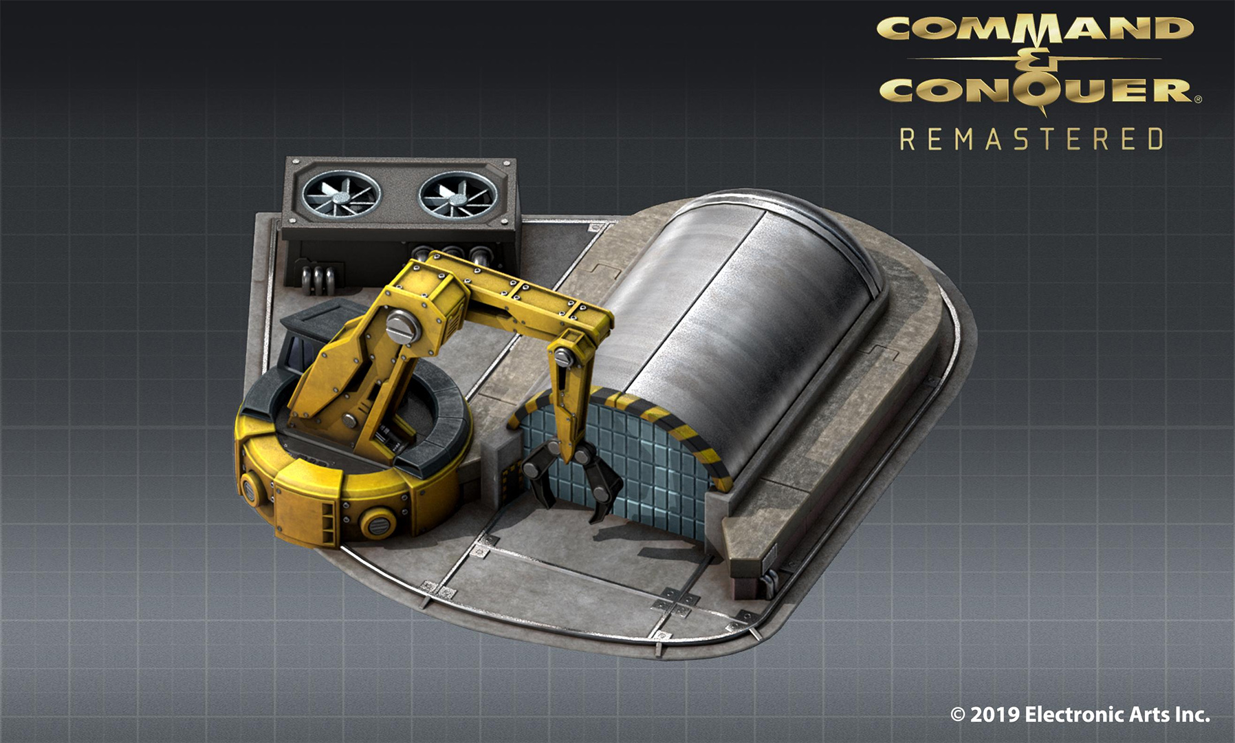 Voici le chantier de construction de Command & Conquer: Remastered