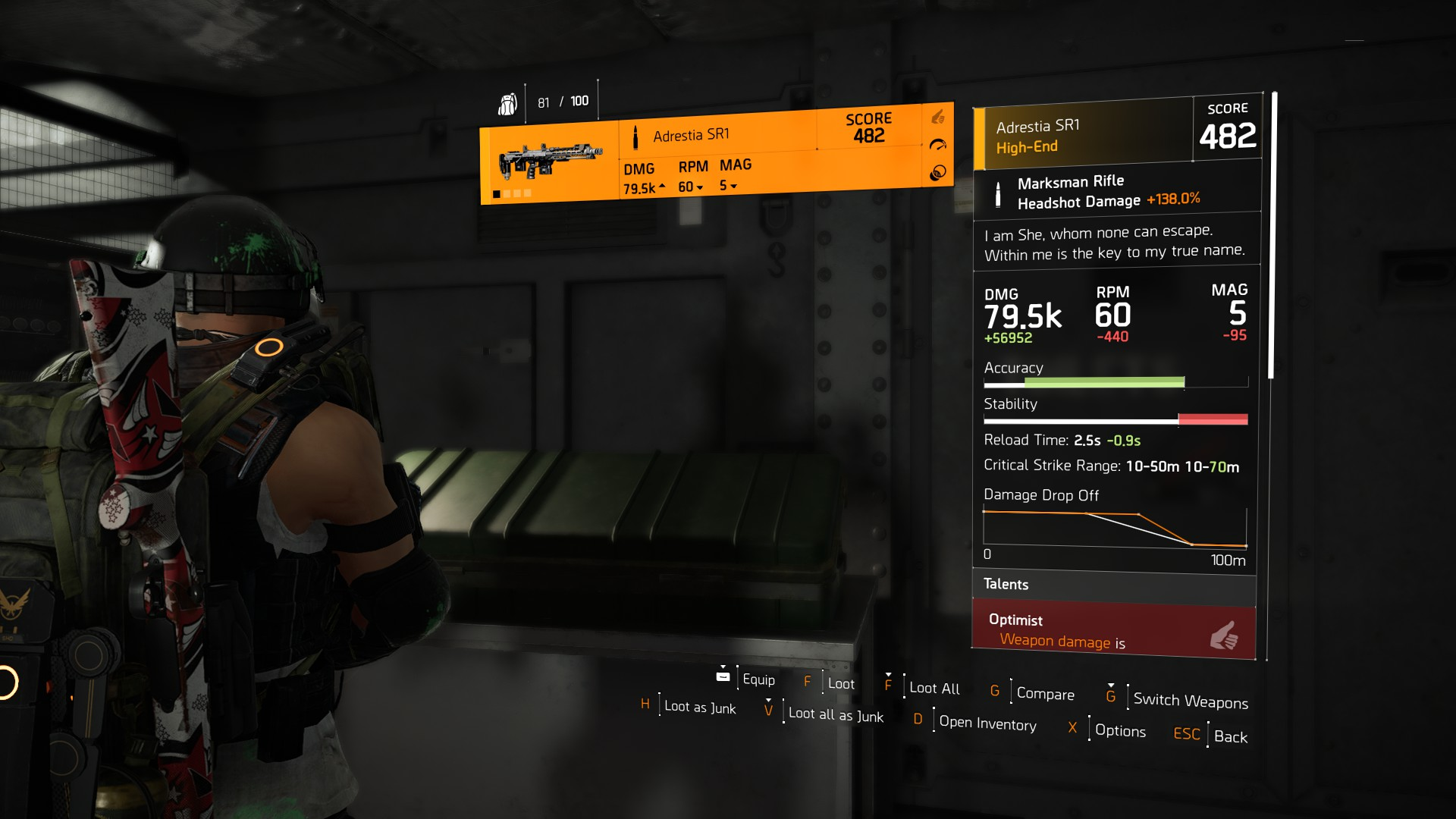 Division 2 Nemesis Exotic Sniper Rifle How To Get The