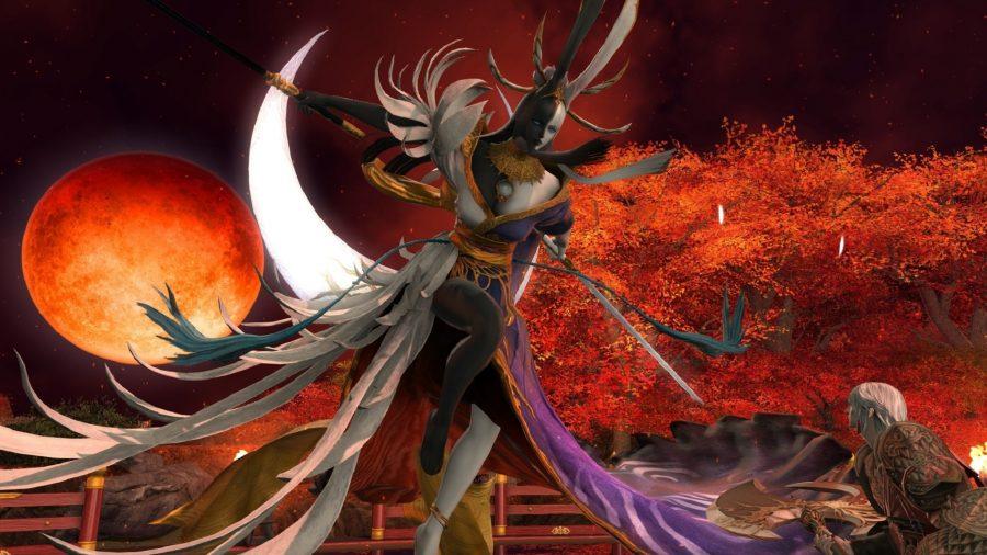 FFXIV Tsukuyomi battle