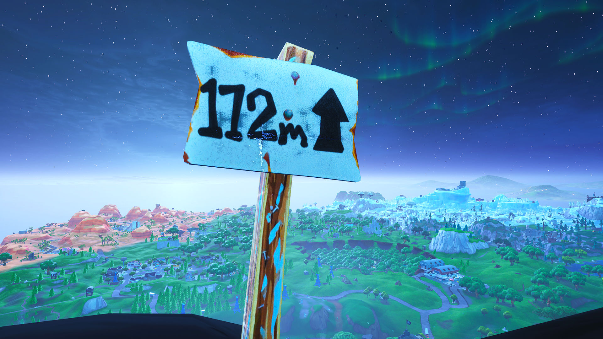 Where Are The 5 Highest Points In Fortnite Fortnite Challenges Visit The 5 Highest Elevations On The Island Pcgamesn
