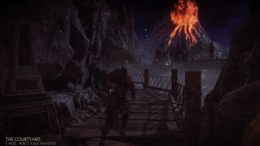 mortal kombat 11 krypt walkthrough volcano