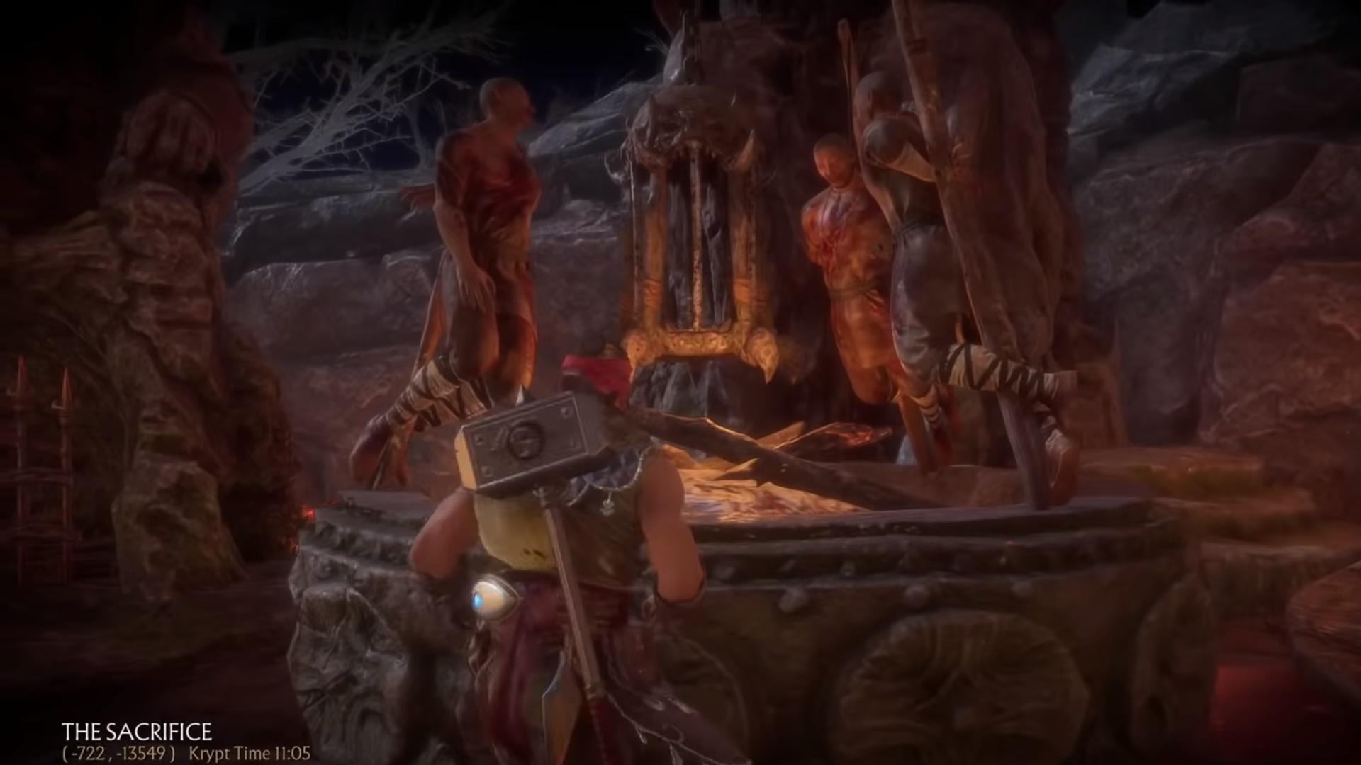 Mortal Kombat 11 Krypt walkthrough: key items, chests, and