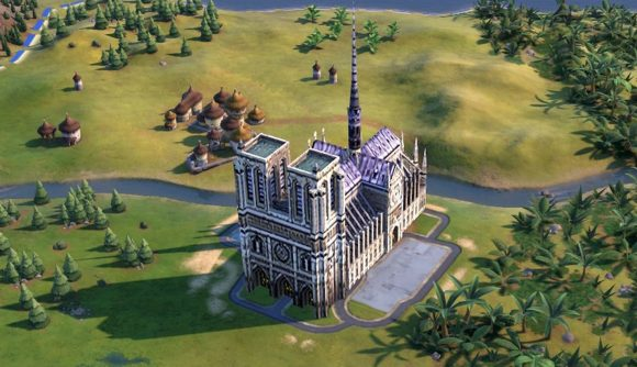 A Civ 6 modder has added Notre Dame to the game | PCGamesN