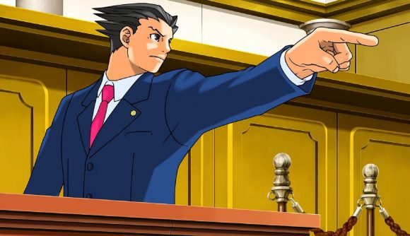 anime games Phoenix Wright: Ace Attorney Trilogy