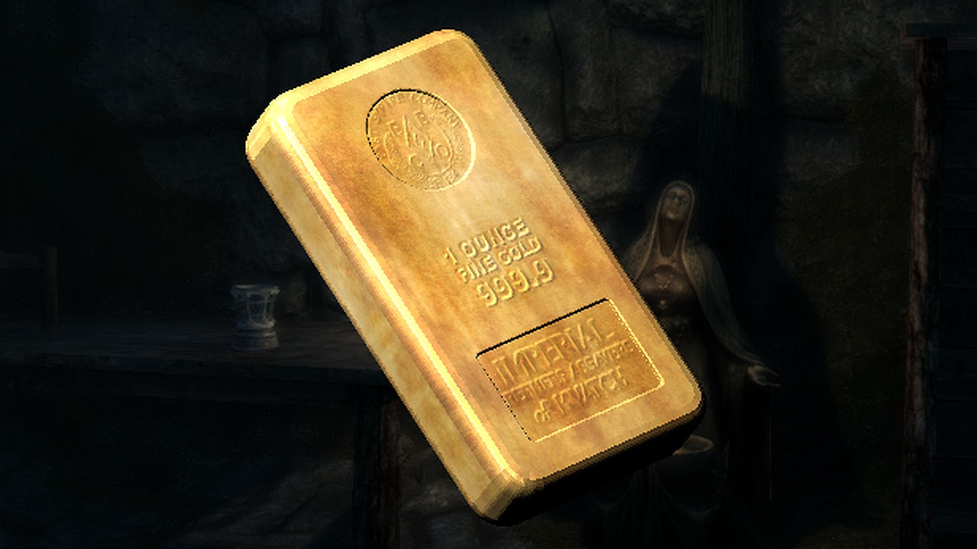 Finally A Skyrim Mod To Fix The Size Weight And Value Of Tamriel S Precious Metals Pcgamesn The fourth tier material, above silver ingot and below adamantite ingot. skyrim mod to fix the size weight