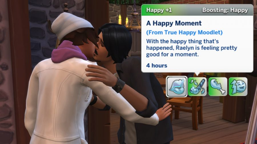 The Sims 4 meaningful stories