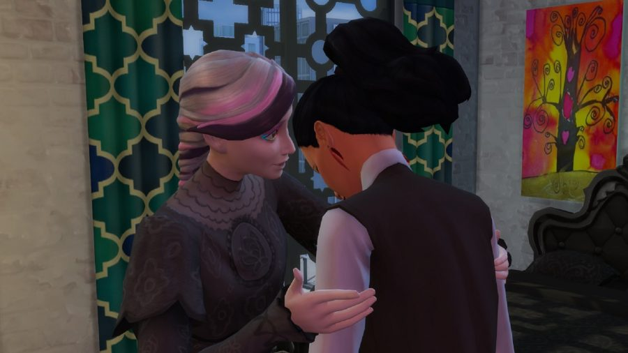 The Sims emotional interia