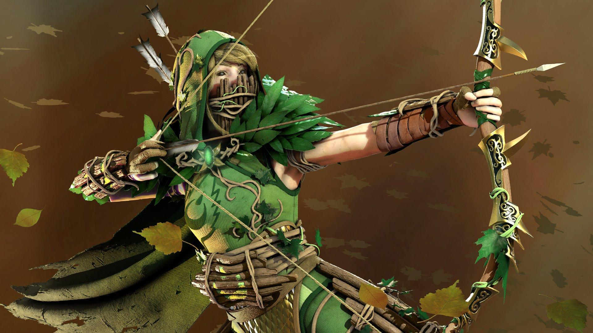 Warhammer: Chaosbanes Wood Elf is an arrow-spitting
