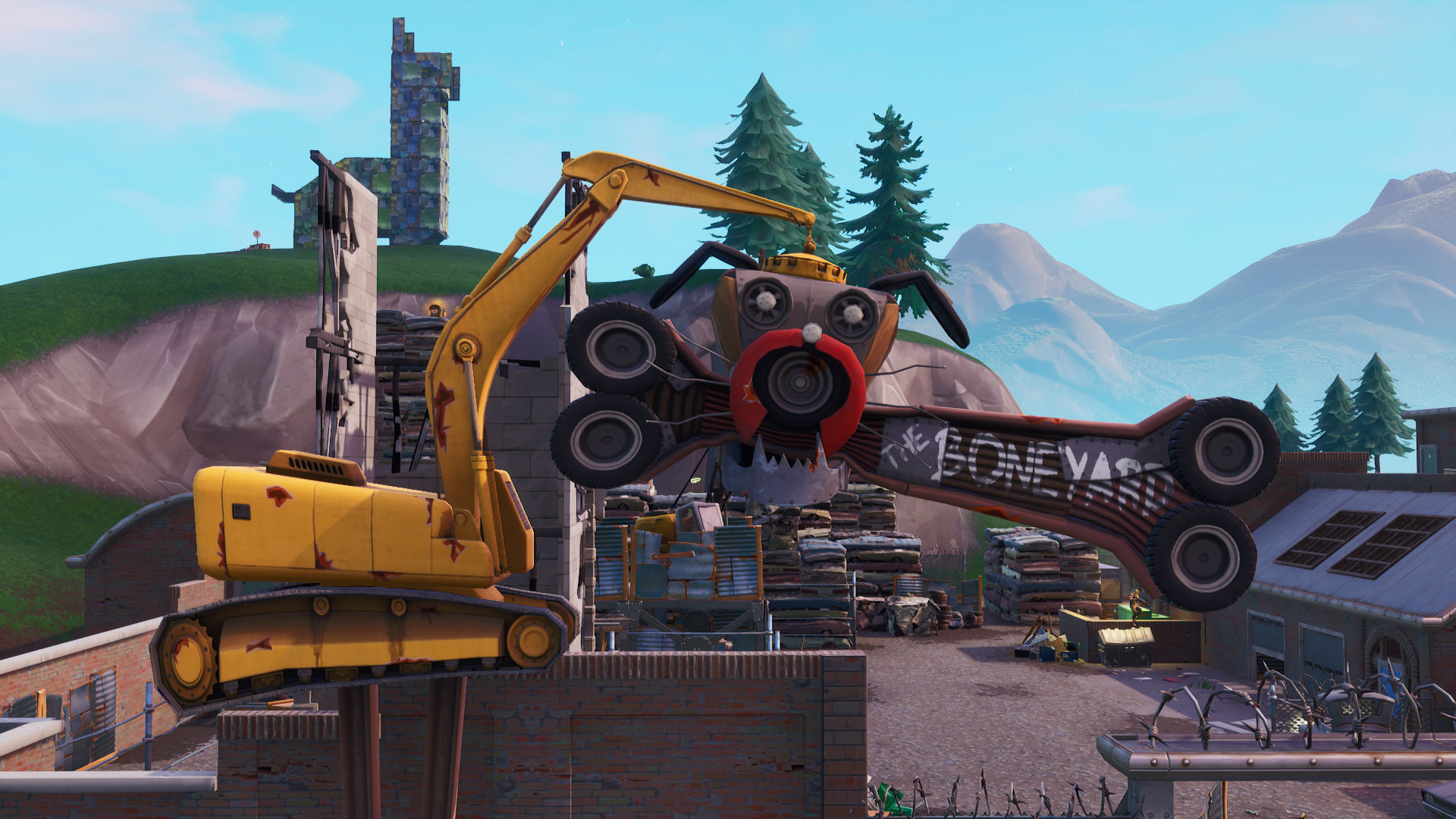 Fortnite Fortbyte 8 location: where to search within Junk Junction