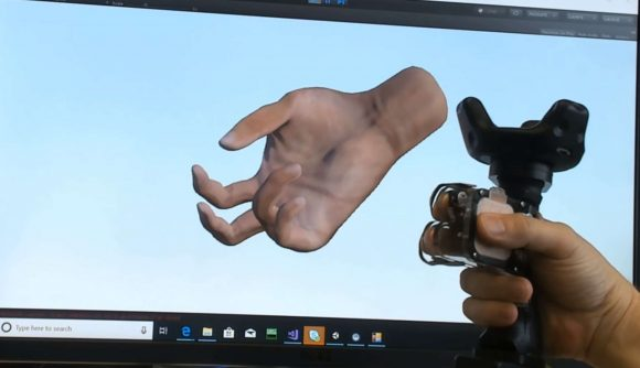 Microsoft's prototype TORC controller for VR
