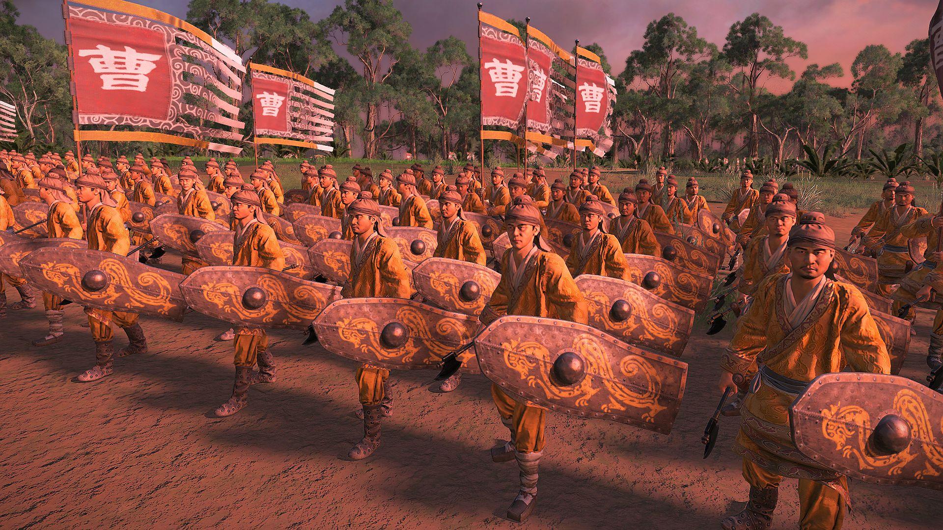 Meet the elite 'dragons' of Total War: Three Kingdoms | PCGamesN