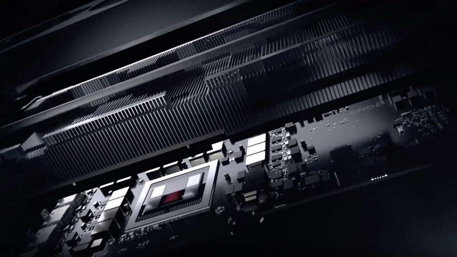 AMD graphics card internals