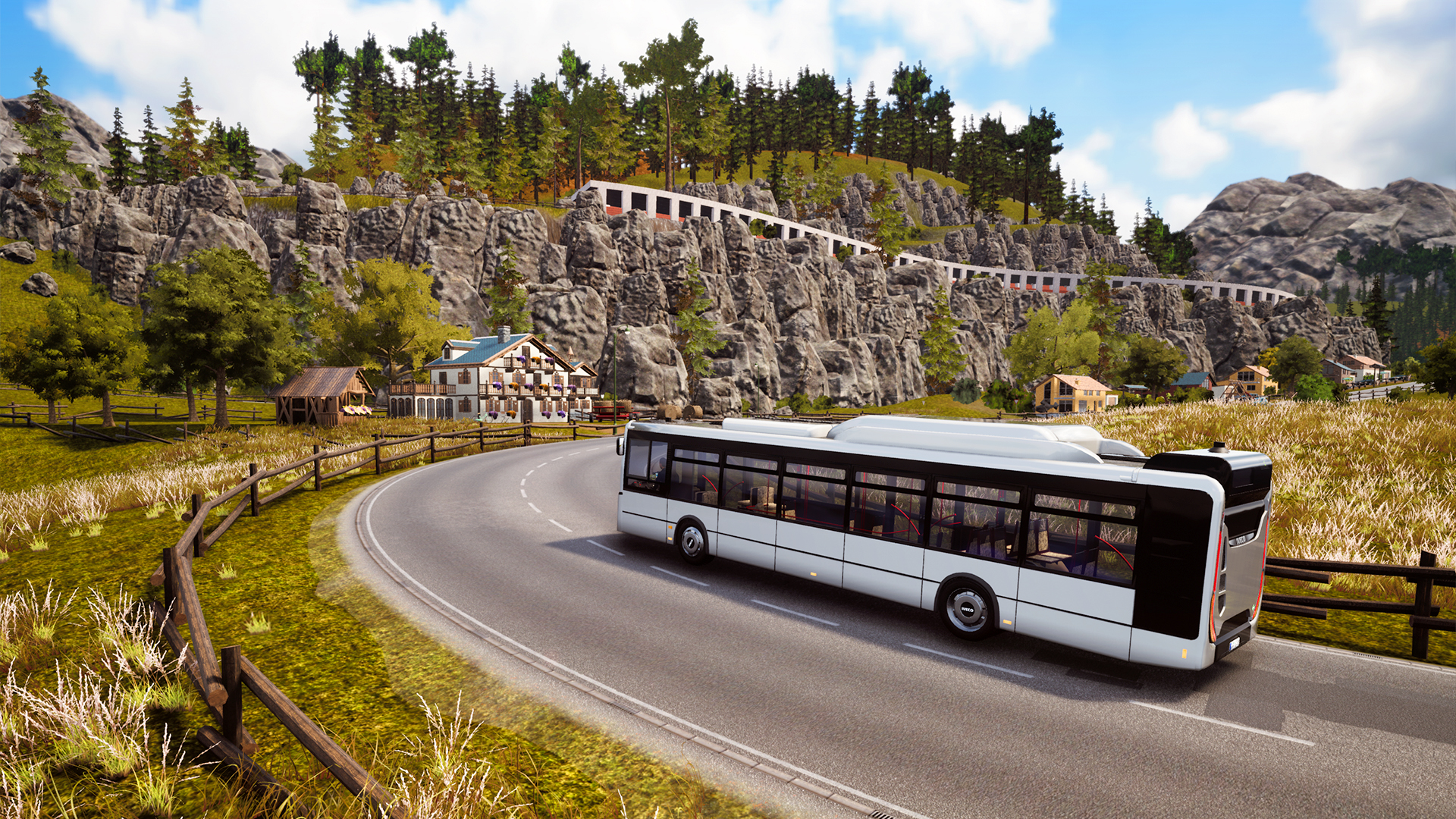 New DLC expands Bus Simulator 18's map with two new towns