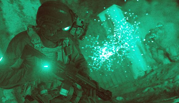 Call of Duty modern warfare nightvision gameplay