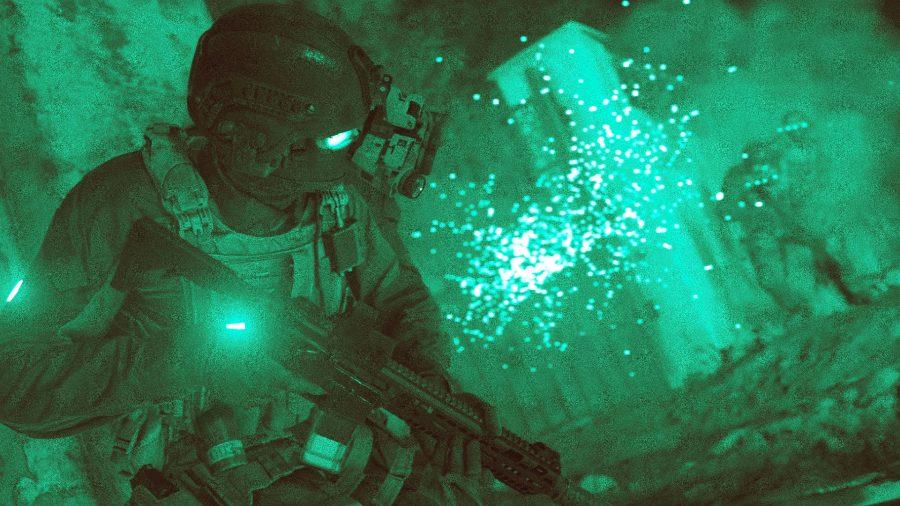 Call of Duty modern warfare nightvision gameplay