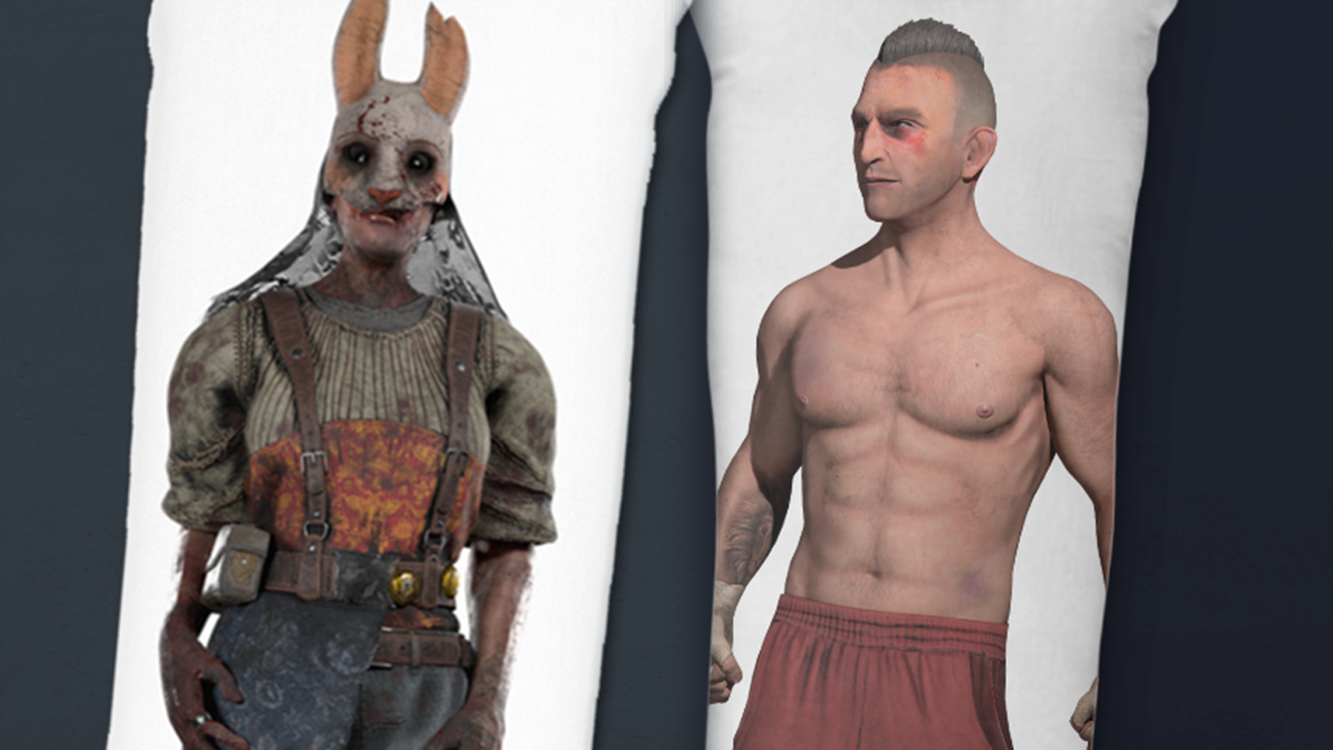 Dead by Daylight has official body pillows, so you can cuddle with your favourite killer