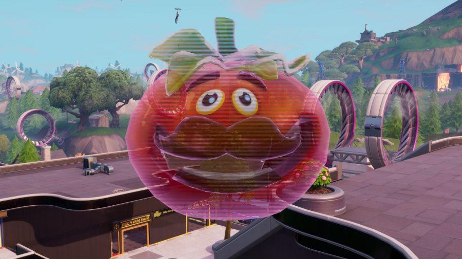 Fortnite Dance Inside Holographic Tomato Head Holographic