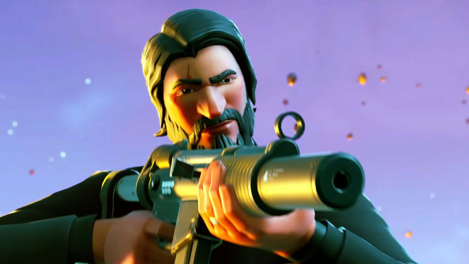 A streamer spent 16 hours helping young Fortnite players earn John Wick umbrellas