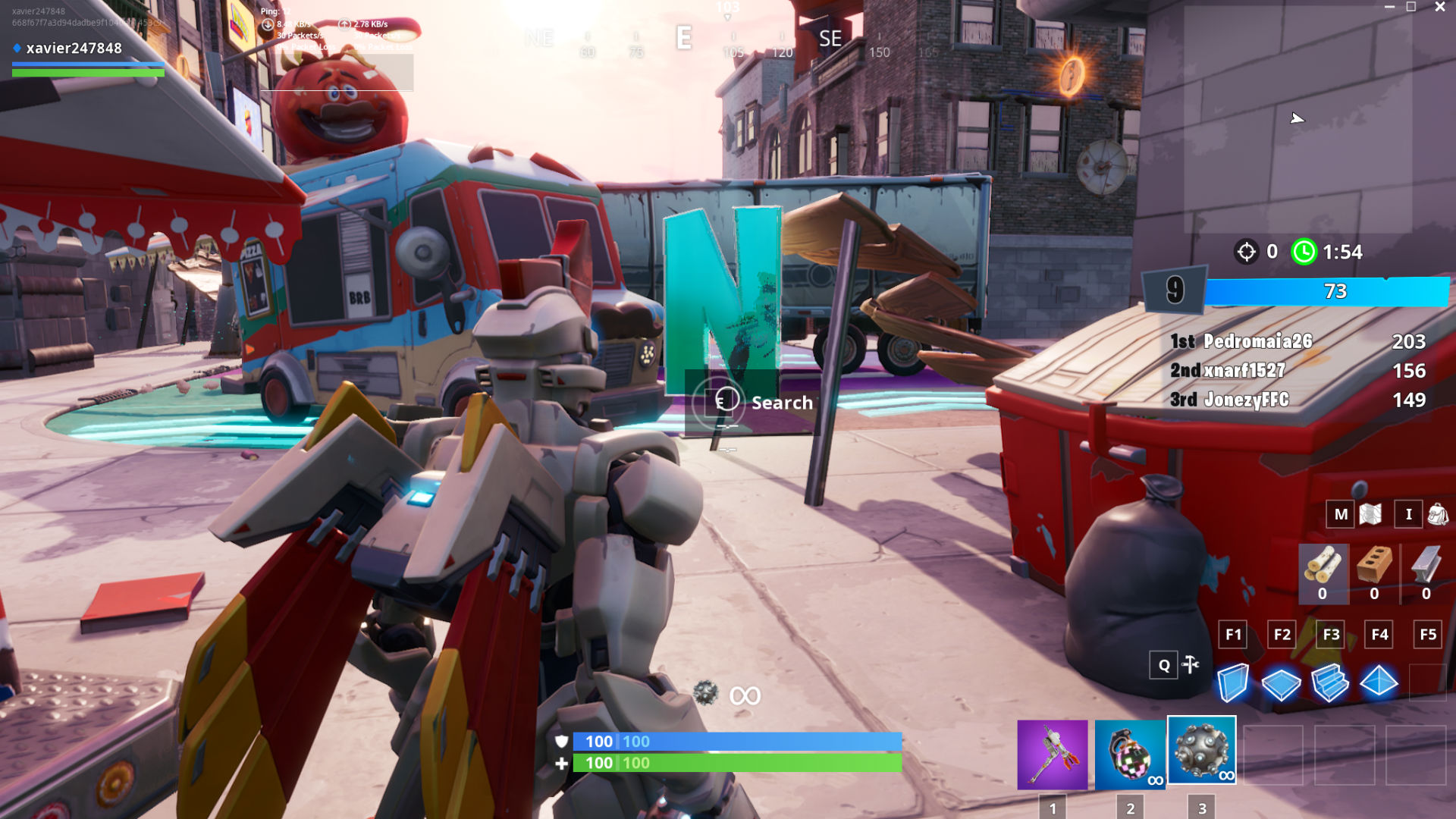 Fortnite: all O-N-F-I-R-E letter locations in Downtown ...