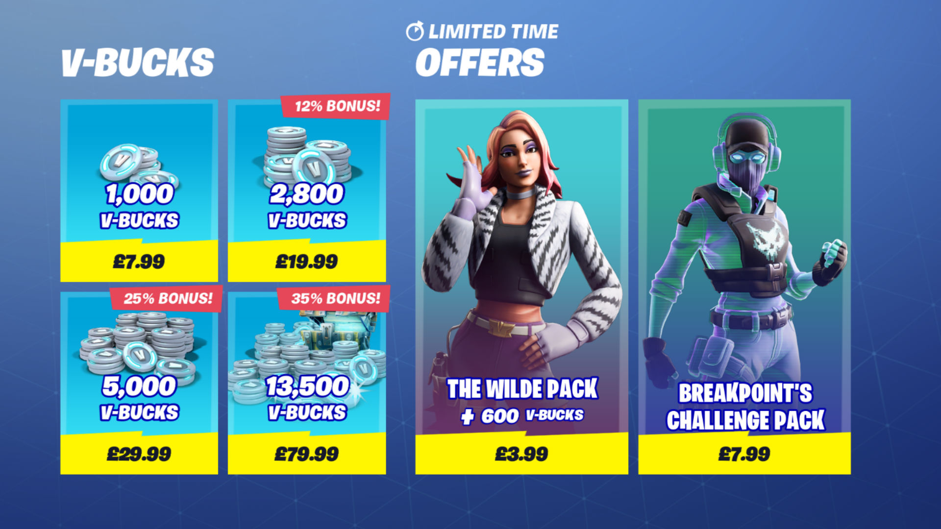 Fortnite V-Bucks: what they are, how much do they cost, and