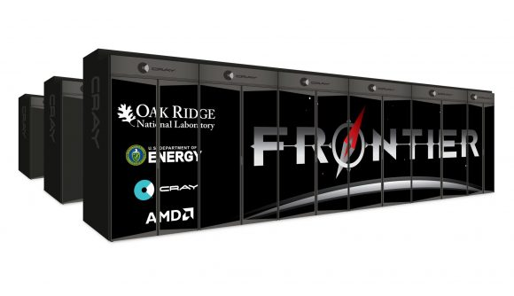 The DOE's Frontier Supercomputer powered by AMD