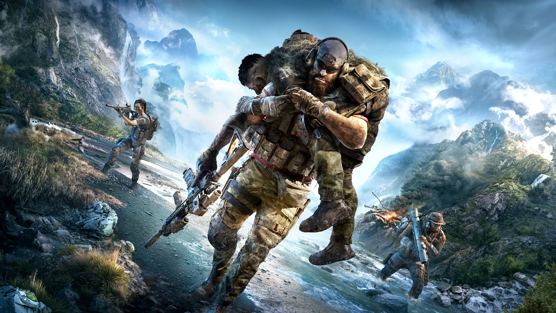 Every new feature coming to ghost recon breakpoint pcgamesn - Ghost recon wildlands wallpaper 4k ...