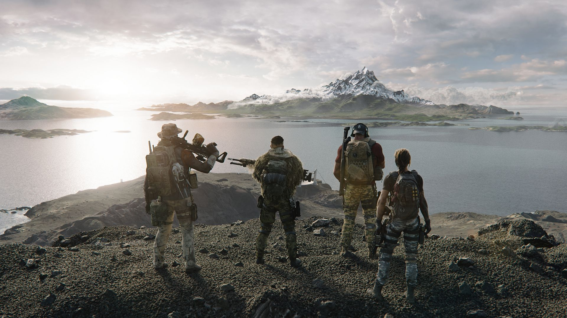 "Ghost Recon Breakpoint's MMO additions are ""a natural step"" in its"