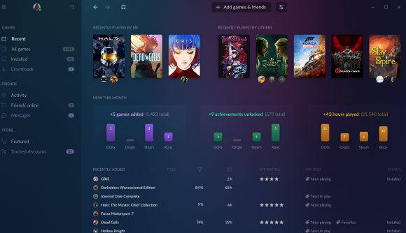 GOG Galaxy 2 0 combines all your game launchers, and it's now in
