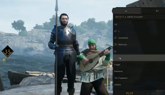 Mordhau players glitch into character select so they can