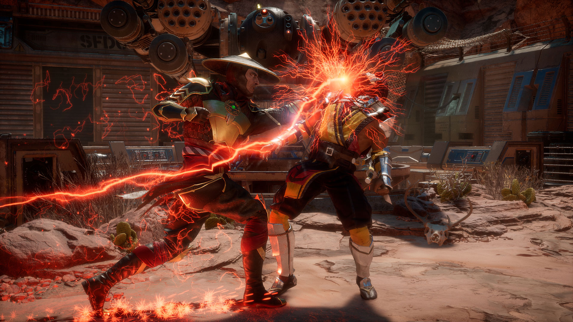 Mortal Kombat 11's 30 fps cap has been lifted for cinematics and the Krypt