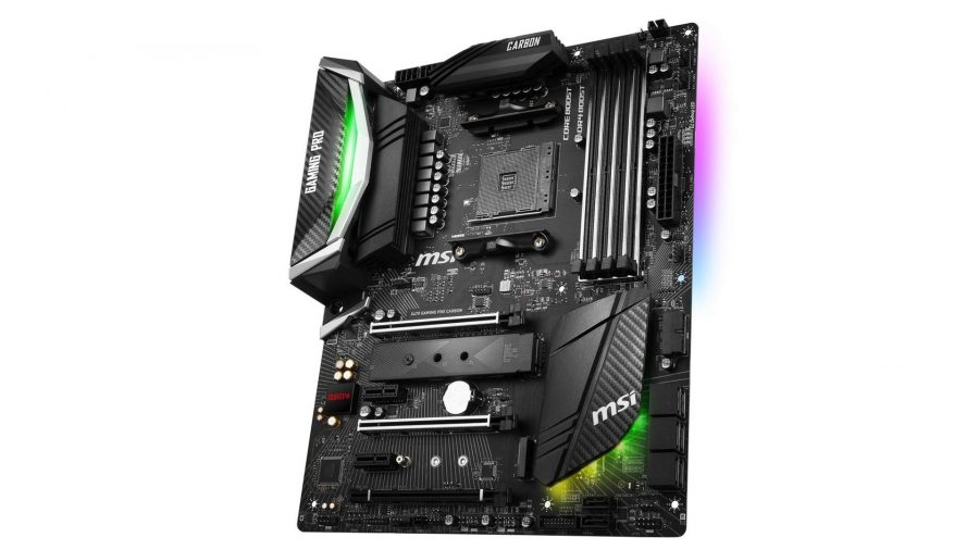 MSI X470 GAMING PRO CARBON ATX Motherboard