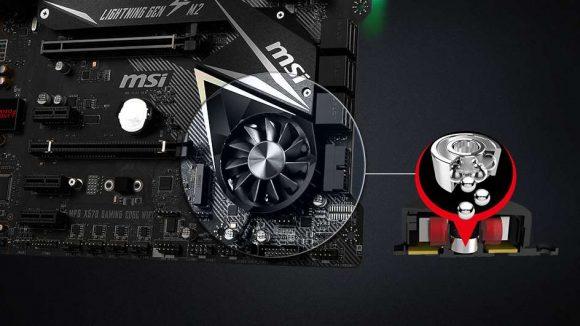AMD X570 chipset fan