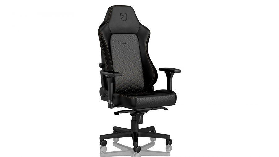 Noblechairs Hero black and gold gaming chair