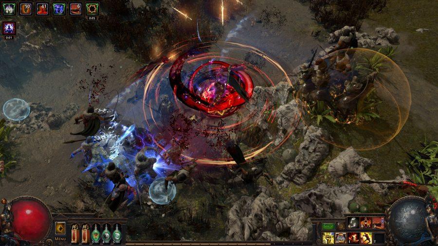 path-of-exile-legion-release-date-combat