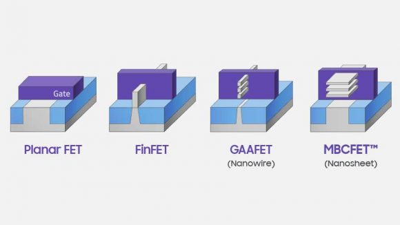 Samsung transistor designs
