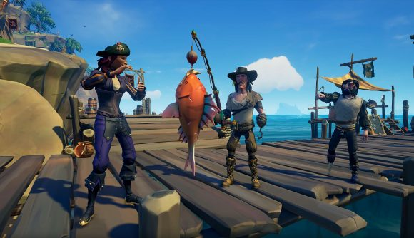 sea of thieves fishing guide