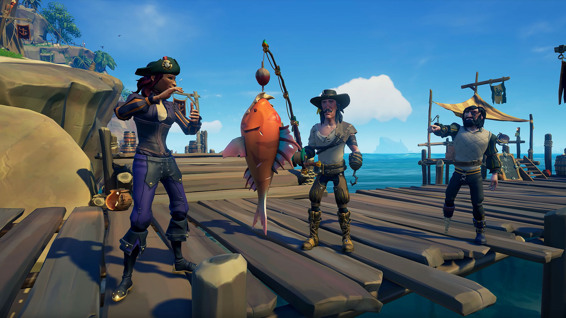Sea of Thieves fishing guide: where to catch each fish and what bait to use