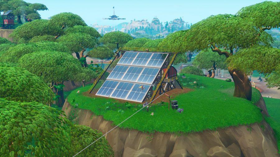 Картинки по запросу solar array fortnite