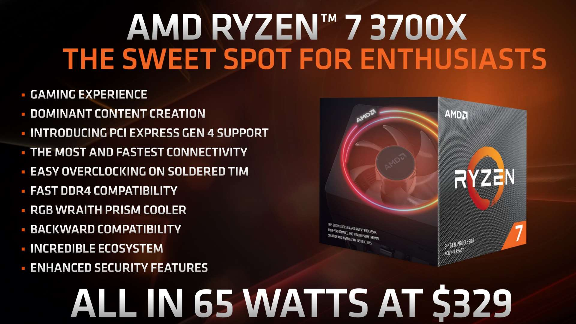 """AMD Ryzen 3700X overclocking potential makes it """"the crown jewel of"""