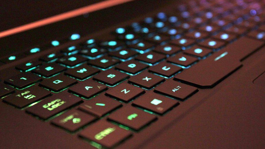 Asus Zephyrus GX502 keyboard