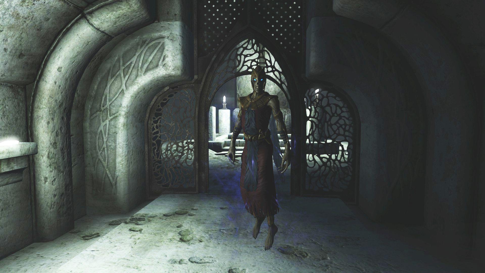 The Beyond Skyrim mod's new trailer shows off Oblivion's