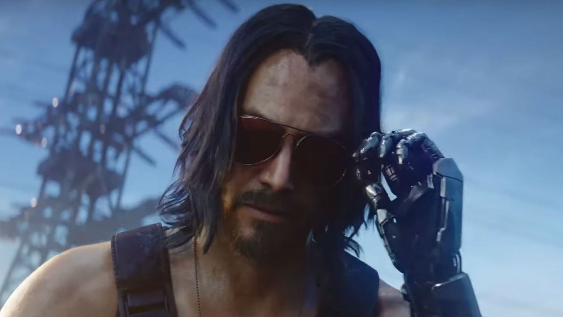 "In Cyberpunk 2077 Keanu Reeves is a ghost that doesn't ""give a rat's dick how you look"""
