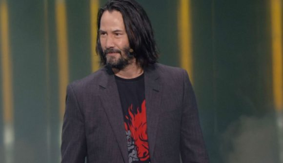 Johnny Silverhand Keanu Reeves