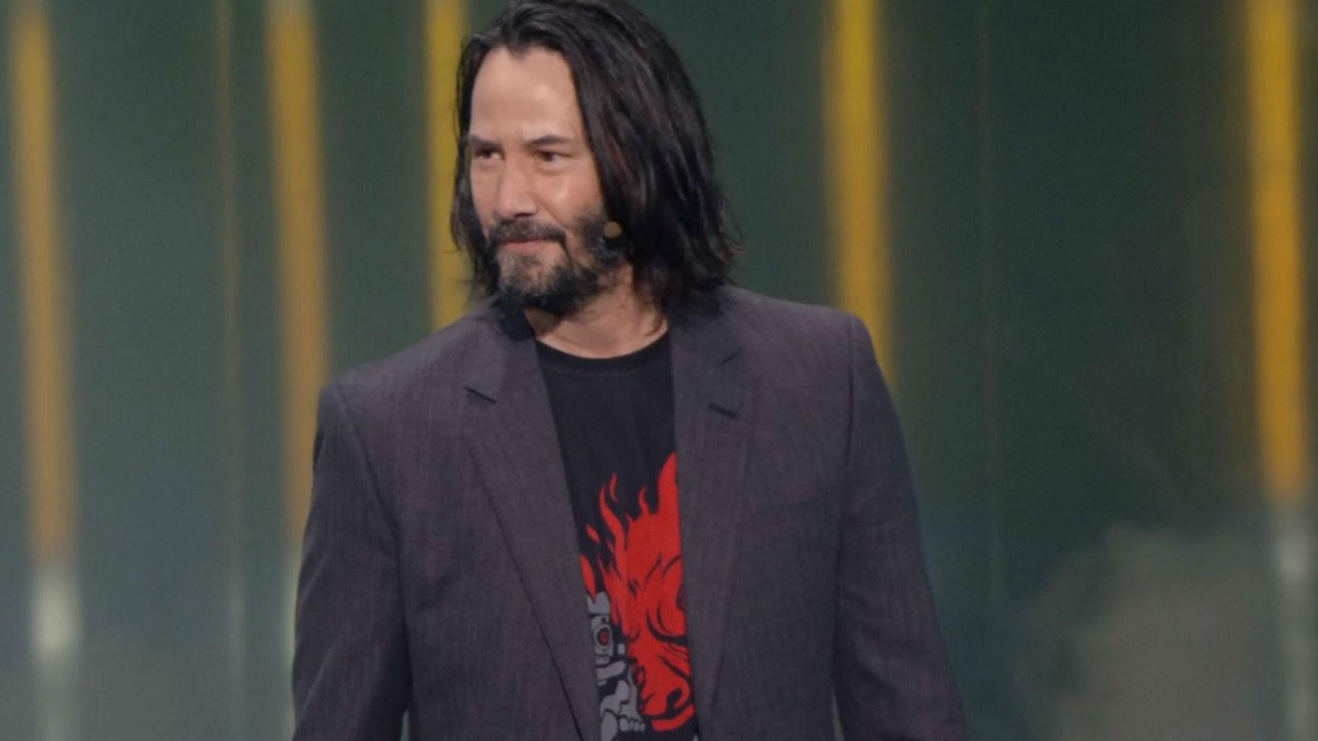 Keanu Reeves is Johnny Silverhand in Cyberpunk 2077 | PCGamesN