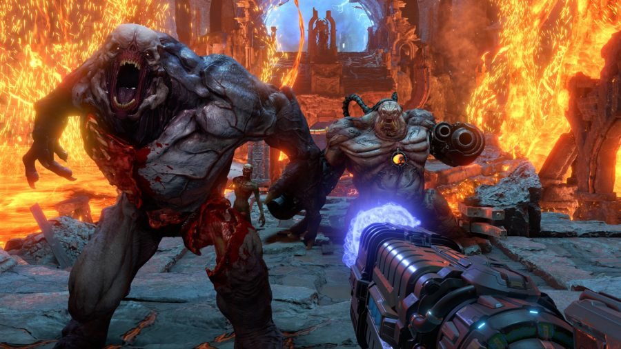 How Long Does It Take To Beat Doom Eternal S Story Pcgamesn