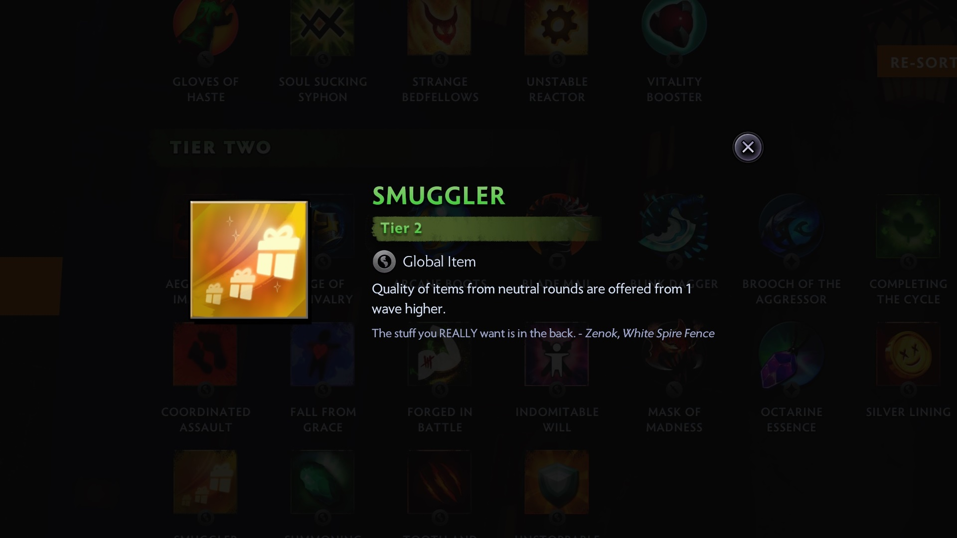 Dota Underlords items: tier list of the best items at each level