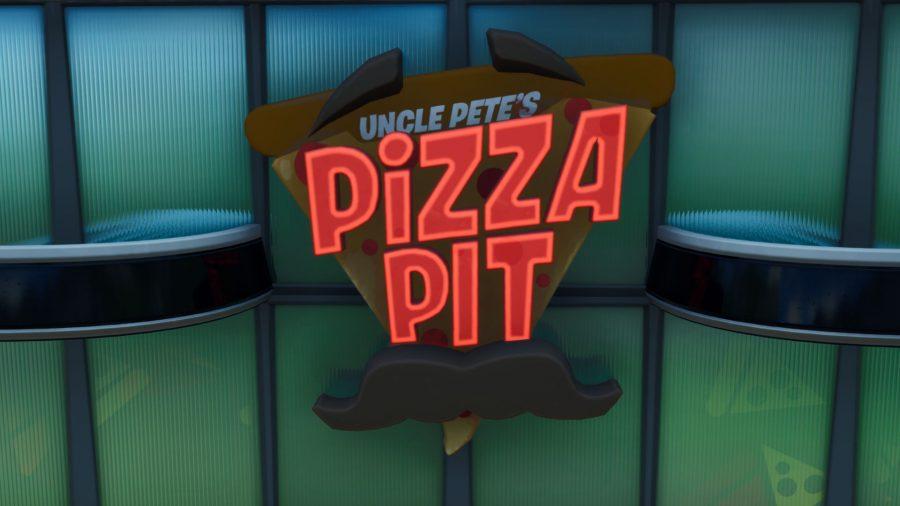 Fortnite Fortbyte 59: use Durrr! emoji inside Pizza Pit